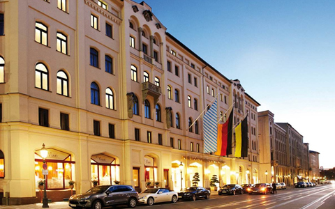 慕尼黑凯宾斯基酒店花园